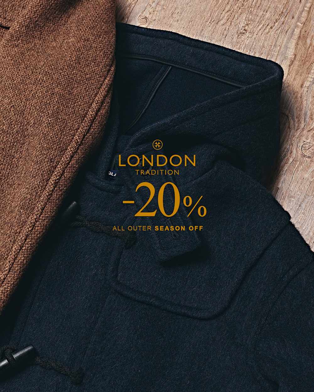 [LONDON TRADITION] 20FW SEASON OFF