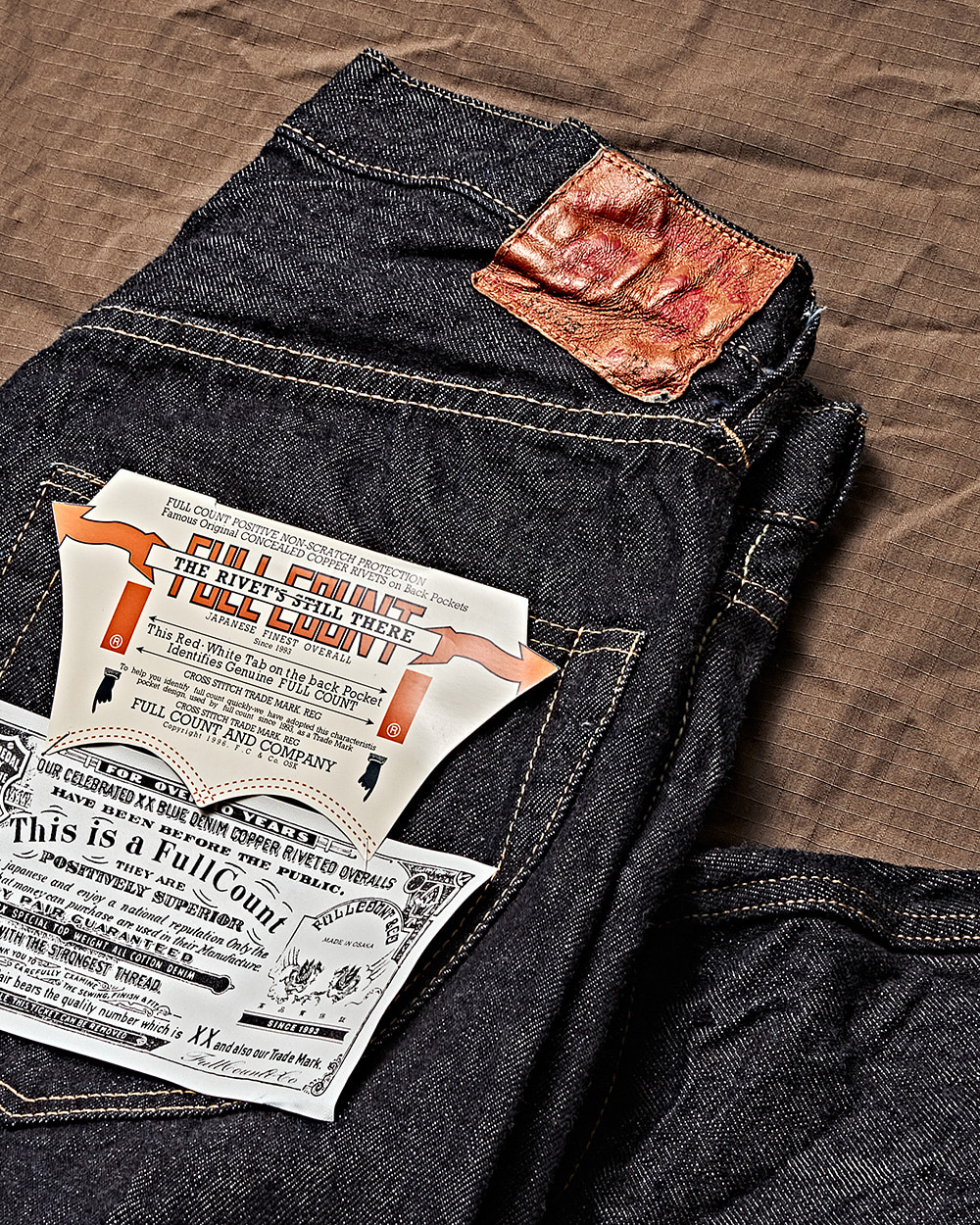 [FULLCOUNT] 20FW Fullcount WWII WPB Regulation Denim