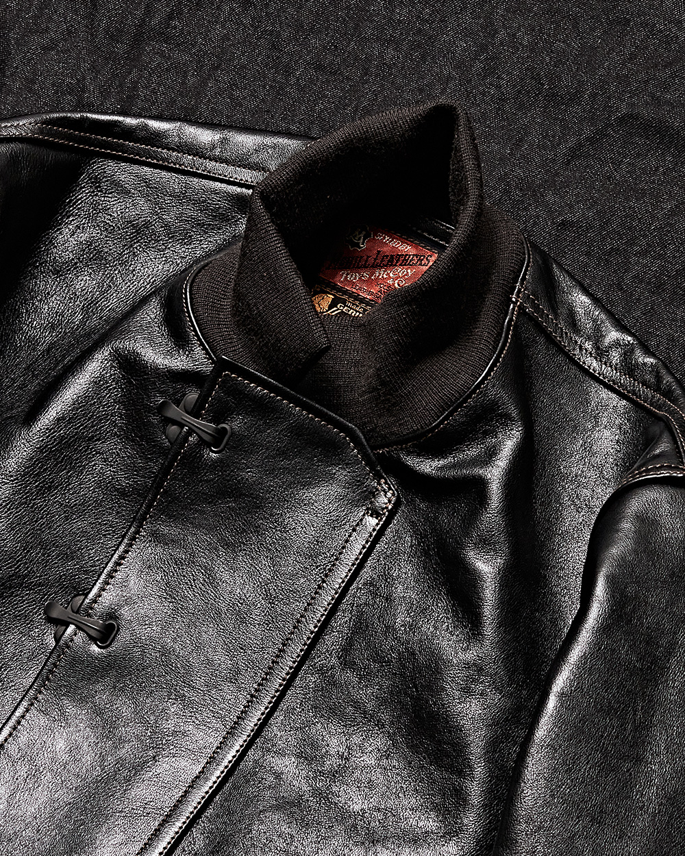 [TOYS MCCOY] TMJ2021 Horsehide Leather Deck Jacket